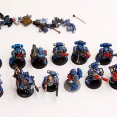 Jeux Anciens: LOTE DE MARINES 21 FIGURAS - WARHAMMER 40000. Lote 190704893