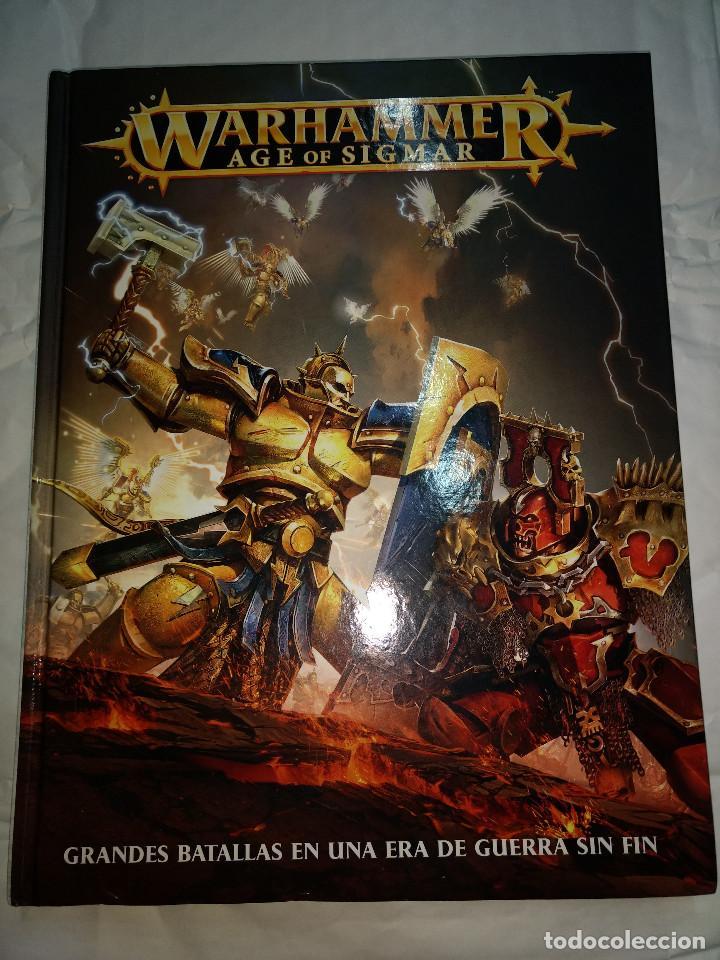 WARHAMMER AGE OF SIGMAR. GRANDES BATALLAS DE UNA ERA DE GUERRAS SIN FIN - GAMES WORKSHOP (Juguetes - Rol y Estrategia - Warhammer)