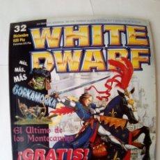Jogos Antigos: REVISTA WHITE DWARF Nº 32-CON RECORTABLES-GAMES WORKSHOP-1997-VER FOTOS. Lote 192433373