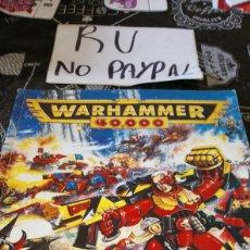 Juegos Antiguos: WARHAMMER 40000 CODEX IMPERIALIS EN INGLES. Lote 192436513