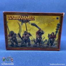 Jogos Antigos: WARHAMMER - CAJA NUEVA TRIPAS DURAS DE LOS REINOS OGROS - CITADEL / 95 - 09 - NUEVA Y COMPLETA. Lote 192469076