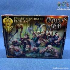 Jogos Antigos: WARHAMMER - AVATARS OF WAR - ENANOS BERSERKERS - INCOMPLETO - FALTAN POCAS PIEZAS. Lote 192474930
