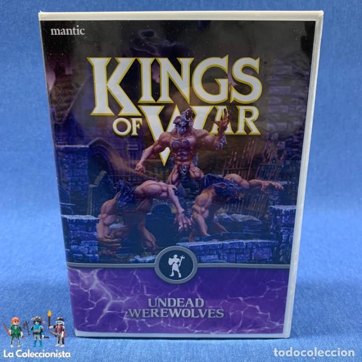 WARHAMMER - KINGS OF WARS - NUEVO - EN BLISTER SIN ABRIR - 3 UNDEAD WEREWOLVES - (Juguetes - Rol y Estrategia - Warhammer)