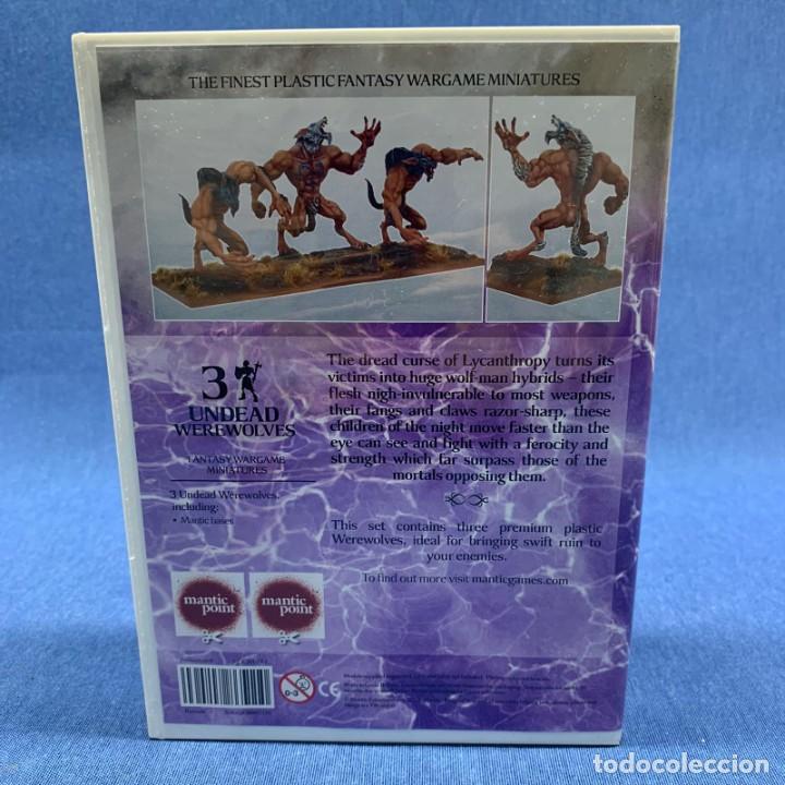 Juegos Antiguos: WARHAMMER - KINGS OF WARS - NUEVO - EN BLISTER SIN ABRIR - 3 UNDEAD WEREWOLVES - - Foto 3 - 192475491
