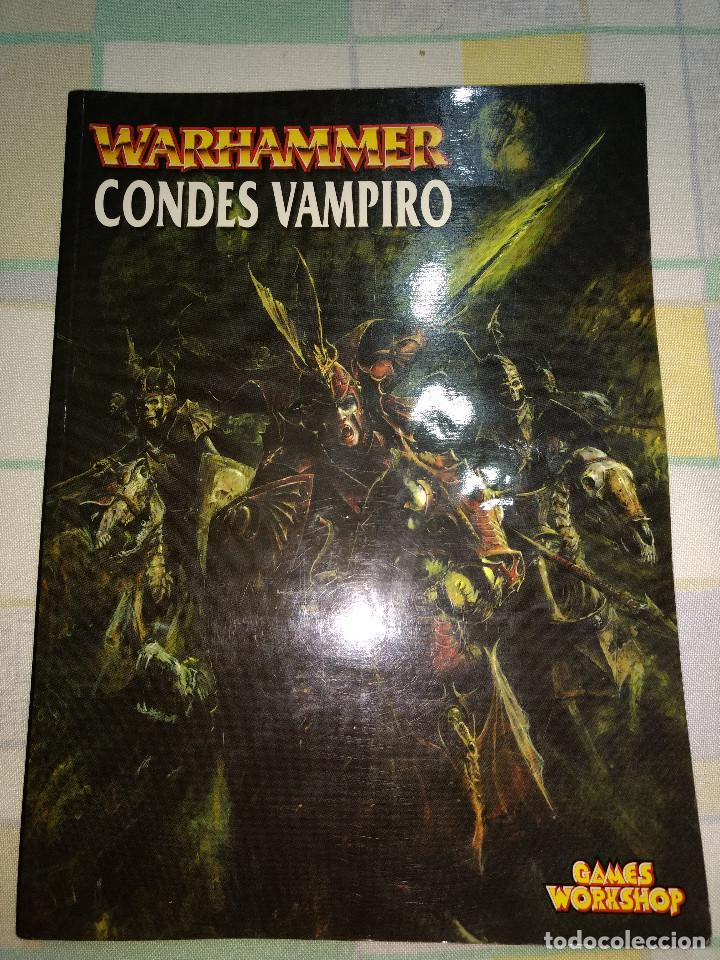 GAMES WORKSHOP WARHAMMER CONDES VAMPIRO (Juguetes - Rol y Estrategia - Warhammer)
