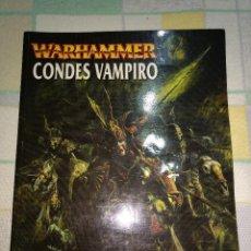 Juegos Antiguos: GAMES WORKSHOP WARHAMMER CONDES VAMPIRO. Lote 192750640
