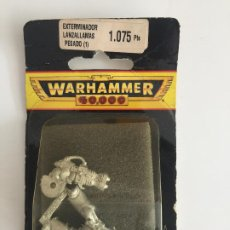 Juegos Antiguos: WARHAMMER 40.000 - EXTERMINADOR LANZALLAMAS PESADO (1) - EN BLISTER - GCH1. Lote 193224635