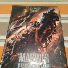 Juegos Antiguos: CODEX WARHAMMER 40K MARINES ESPACIALES. Lote 194107085