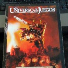 Juegos Antiguos: WARHAMMER EL UNIVERSO DE LOS JUEGOS GAMES WORKSHOP 24 PAGINAS. Lote 194223808
