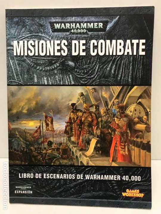 MISIONES DE COMBATE LIBRO DE SCENARIOS WARHAMMER 40.000 (Juguetes - Rol y Estrategia - Warhammer)
