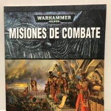 Juegos Antiguos: MISIONES DE COMBATE LIBRO DE SCENARIOS WARHAMMER 40.000. Lote 194230427
