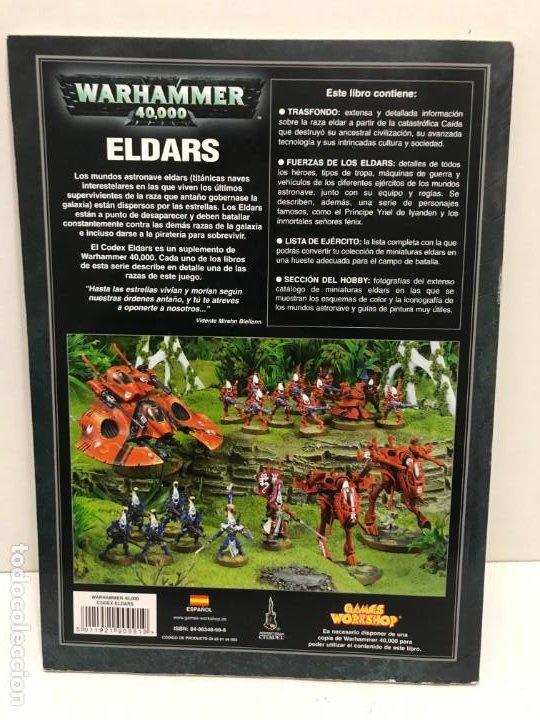 Juegos Antiguos: ELDARS WARHAMMER 40.000 - Foto 2 - 194230671