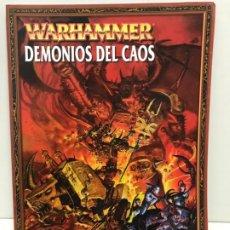 Jogos Antigos: DEMONIOS DEL CAOS EJERCITOS WARHAMMER. Lote 194230873
