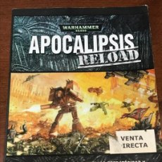 Juegos Antiguos: APOCALIPSIS RELOAD WARHAMMER 40,000. Lote 194234145