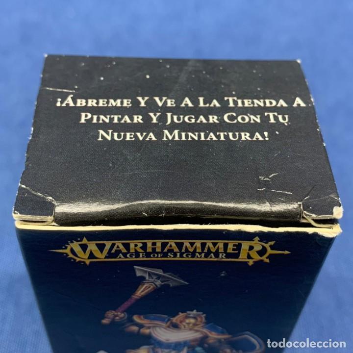 Juegos Antiguos: FIGURA MINIATURA NUEVA , EN CAJA WARHAMMER AGE OF SIGMAR STORMCAST ETERNALS SEQUITOR - Foto 3 - 194304947