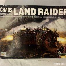 Juegos Antiguos: LAND RAIDER DEL CAOS, WARHAMMER 40K, EN CAJA.. Lote 194896461