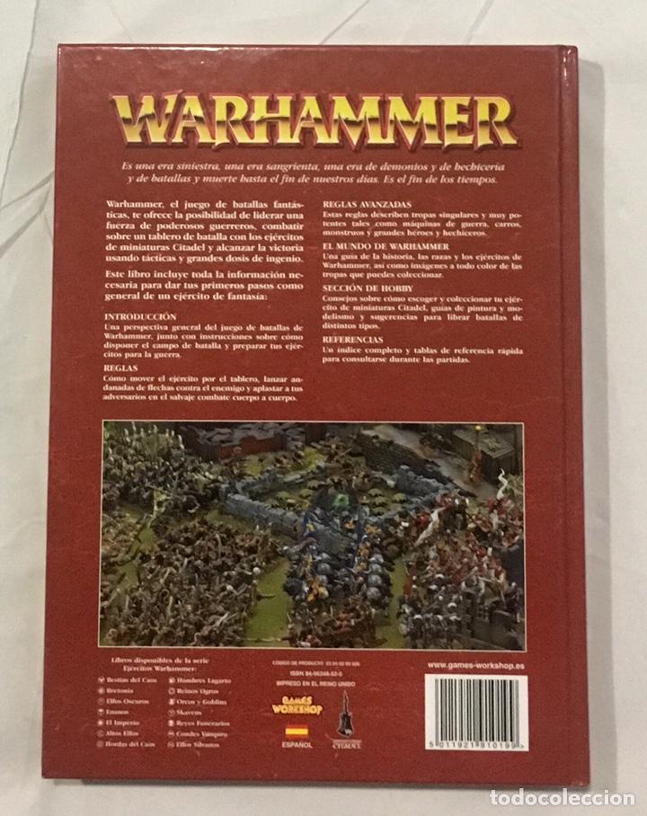 Juegos Antiguos: Libro de reglas Warhammer 7ª edición, como nuevo. - Foto 3 - 194897170