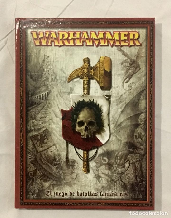 LIBRO DE REGLAS WARHAMMER 7ª EDICIÓN, COMO NUEVO. (Juguetes - Rol y Estrategia - Warhammer)