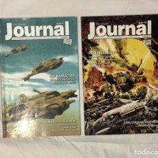 Juegos Antiguos: 2 CITADEL JOURNAL, MÍTICA REVISTA OFICIAL CON REGLAS ESPECIALES Y MATERIAL EXTRA.. Lote 194897717