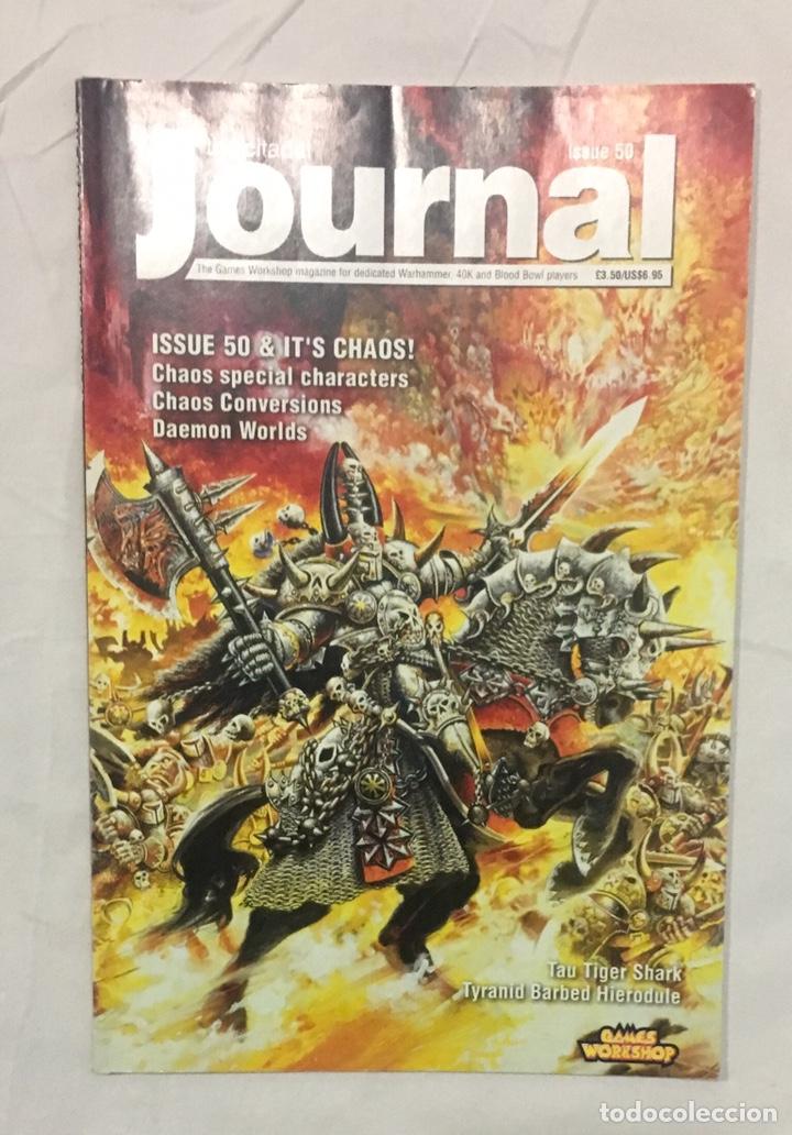 CITADEL JORURNAL, MÍTICA REVISTA OFICIAL, REGLAS Y MATERIAL EXTRA PARA JUGAR. (Juguetes - Rol y Estrategia - Warhammer)