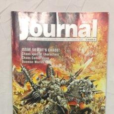 Juegos Antiguos: CITADEL JORURNAL, MÍTICA REVISTA OFICIAL, REGLAS Y MATERIAL EXTRA PARA JUGAR.. Lote 194897795
