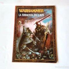 Juegos Antiguos: WARHAMMER CODEX LA TORMENTA DEL CAOS AÑO 2004. Lote 195112457