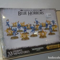 Juegos Antiguos: WARHAMMER AGE OF SIGMAR - DAEMONS OF TZEENTCH BLUE HORRORS - OFERTA (ANTES 30.00 EU.). Lote 195120588