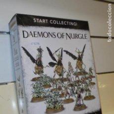 Juegos Antiguos: WARHAMMER AGE OF SIGMAR - START COLLECTIN DAEMONS OF NURGLE - OFERTA (ANTES 112.50 EU.). Lote 195121910