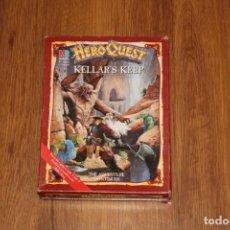 Juegos Antiguos: CAJA ORIGINAL EXPANSIÓN HEROQUEST KELLAR´S KEEP TORRE MB 1989 GAMES WORKSHOP. Lote 195152692