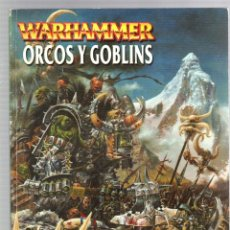 Juegos Antiguos: WARHAMMER. ORCOS Y GOBLINS. GAMES WORKSHOP. Lote 195199926