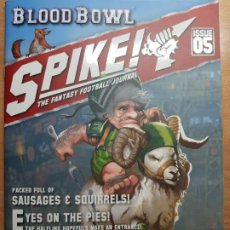 Juegos Antiguos: SPIKE! ISSUE 5, HALFLINGS. LA REVISTA DE BLOOD BOWL. EN INGLÉS. Lote 195277532