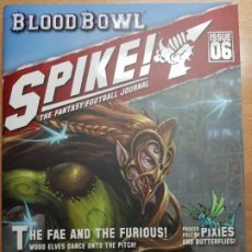 Juegos Antiguos: SPIKE! ISSUE 6, WOOD ELVES. LA REVISTA DE BLOOD BOWL. EN INGLÉS. Lote 195277742
