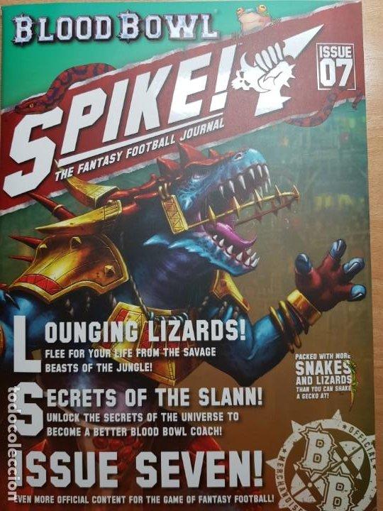SPIKE! ISSUE 7, LIZARDMEN. LA REVISTA DE BLOOD BOWL. EN INGLÉS (Juguetes - Rol y Estrategia - Warhammer)