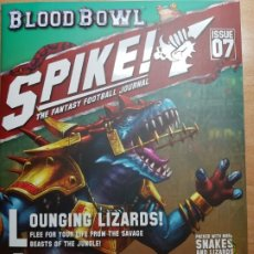Juegos Antiguos: SPIKE! ISSUE 7, LIZARDMEN. LA REVISTA DE BLOOD BOWL. EN INGLÉS. Lote 195278031