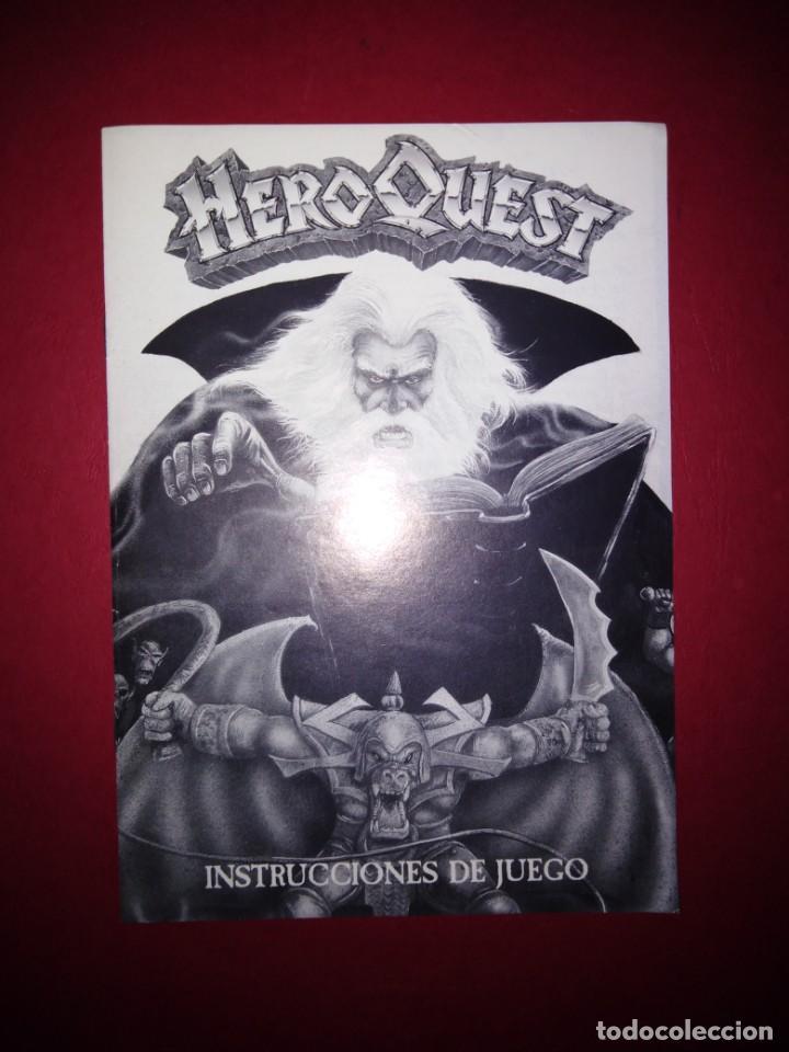 HEROQUEST INTRUCCIONES DE JUEGO (Juguetes - Rol y Estrategia - Warhammer)