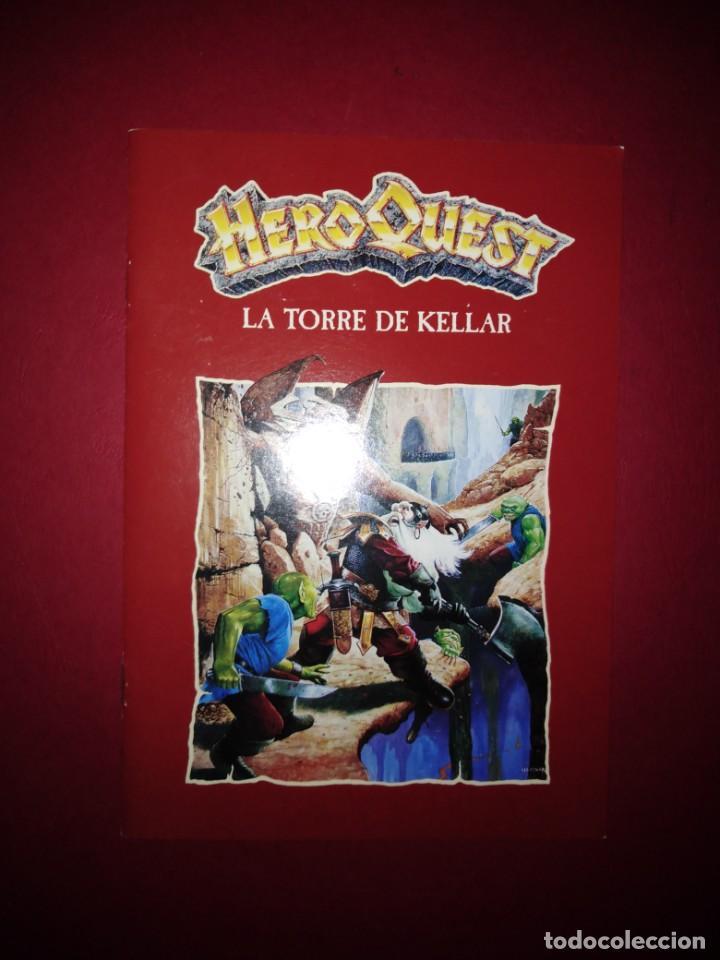 HEROQUEST LA TORRE DE KELLAR MANUAL (Juguetes - Rol y Estrategia - Warhammer)