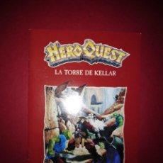 Juegos Antiguos: HEROQUEST LA TORRE DE KELLAR MANUAL. Lote 195311980