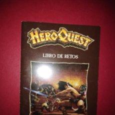 Juegos Antiguos: HEROQUEST LIBRO DE RESTOS. Lote 195312107