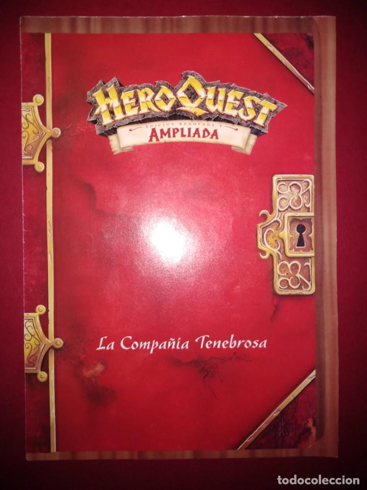 HEROQUEST HERO QUEST MB RETO LA COMPAÑIA TENEBROSA (PERTENECE A LA VERSION AMPLIADA) (Juguetes - Rol y Estrategia - Warhammer)