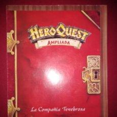 Juegos Antiguos: HEROQUEST HERO QUEST MB RETO LA COMPAÑIA TENEBROSA (PERTENECE A LA VERSION AMPLIADA). Lote 195312361