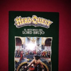 Juegos Antiguos: HEROQUEST RETURN OF THE WITCH LORD - LIBRO DE INSTRUCCIONES RETORNO DEL REY BRUJO. Lote 195312567