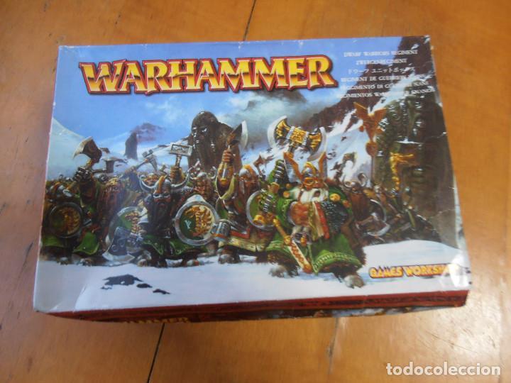 CAJA CON FIGURAS WARHAMMER DE PLÁSTICO GAMES WORKSHOP CITADEL MINIATURAS (Juguetes - Rol y Estrategia - Warhammer)