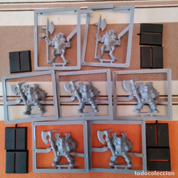 Juegos Antiguos: Warhammer guerreros del caos, hombres bestia, orcos, arqueros - oldhammer nuevos - Foto 2 - 195342841