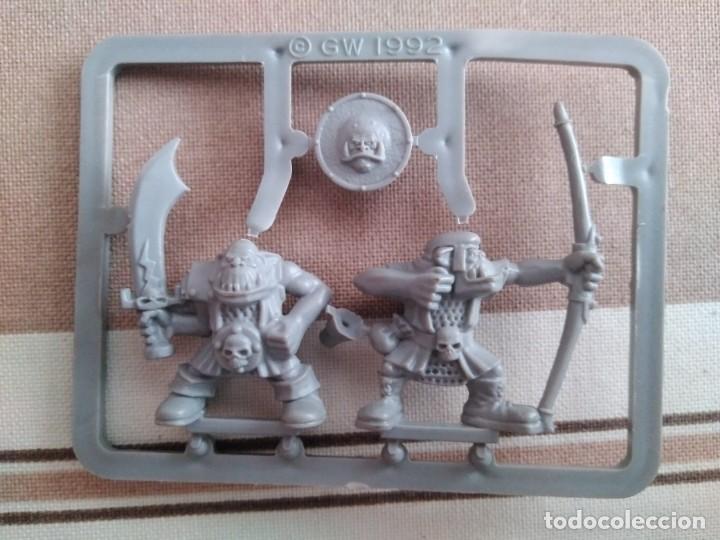 Juegos Antiguos: Warhammer guerreros del caos, hombres bestia, orcos, arqueros - oldhammer nuevos - Foto 4 - 195342841