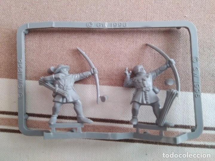 Juegos Antiguos: Warhammer guerreros del caos, hombres bestia, orcos, arqueros - oldhammer nuevos - Foto 5 - 195342841