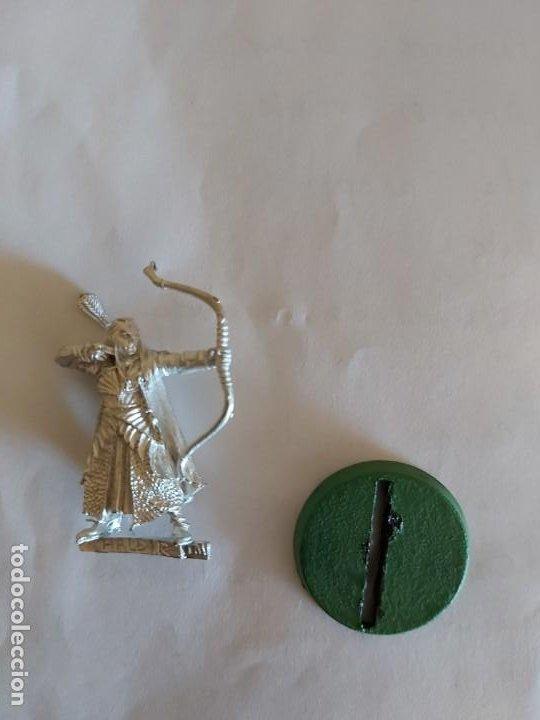 Juegos Antiguos: Haldir con arco en el abismo de Helm - Warhammer Esdla - Foto 2 - 195366612