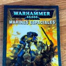 Juegos Antiguos: CODEX MARINES ESPACIALES WARHAMMER 40000. Lote 195456606
