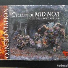 Juegos Antiguos: CONFRONTATION CYCLOPE DE MID-NOR DE RACKHAM. Lote 196372767