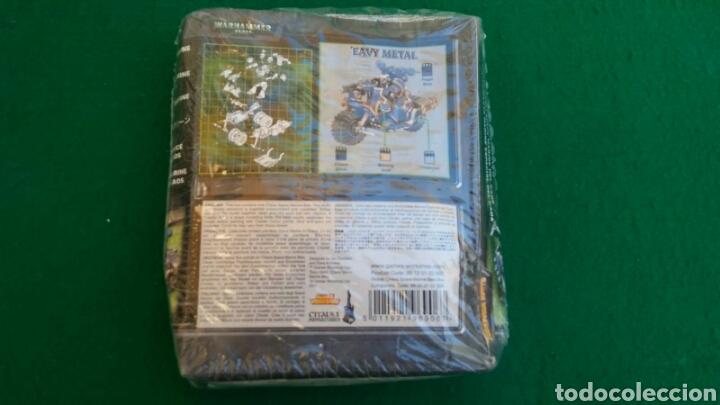 Juegos Antiguos: CAJA WARHAMMER 40000, MOTO MARINE ESPECIAL DEL CAOS, NUEVO, PRECINTADO - Foto 3 - 196445677
