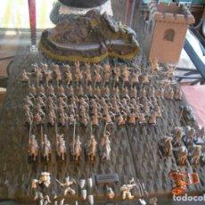 Jogos Antigos: LOTE WARHAMMER, 28 PLOMO,55 PLASTICO,+ 6 CABALLOS Y JINETES(COLAS ROTAS)+ 7CABALLOS, VER COMENTARIOS. Lote 197307068